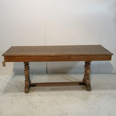 Antique Pine Refectory Table (S3505B)