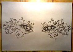 Eyes tattoo design... by ~RNAcid on deviantART