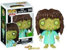 Novo Pop! Vinyl da personagem Regan, do filme O Exorcista (1973) foi anunciado pela empresa Funko, com previsão de lançamento para outubro de 2015.