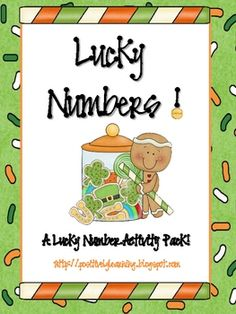 Here's an activity pack overflowing with lucky number resources!
