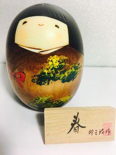 Kokeshi Haru-Primavera