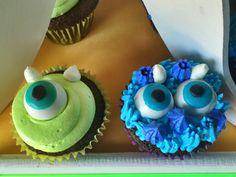 Monsters inc cupcake
