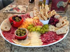 meat and cheese trays - Yahoo Image Search Results Meat And Cheese Tray, Meat Trays, Meat Platter, Antipasto Platter, Cheese Plates, Italian Appetizers, Appetizers For Party, Appetizer Recipes, Catering