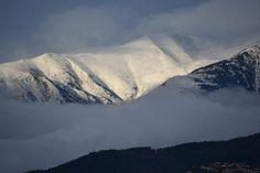 Snow on Canigou Mount Everest, Snow, France, Mountains, Nature, Travel, Viajes, Naturaleza, Destinations