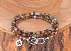 Krizopraz Taşlı 925k Gümüş Üç Sıra Bileklik Zet.com'da 180 TL Beaded Bracelets, Jewelry, Fashion, Moda, Jewlery, Jewerly, Fashion Styles, Pearl Bracelets, Schmuck