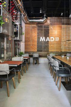 Retales de Madrid: MAD13, la nueva propuesta gastro-cool en Paseo de ...