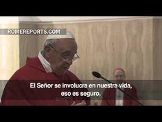 """Papa Francisco: """"Dios nos acompaña aunque a veces no lo veamos, hay que tener paciencia"""""""