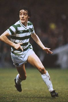 circa 1983 Scottish Premier Division Frank McGarvey Celtic striker who won 7 Scotland international caps between 19791984 Celtic Fc, Glasgow, Burns, Scotland, Kicks, Clock, Cap, The Unit
