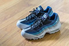 sports shoes 24792 82c32 Check out this pickup video of the Nike Air Max 95 Essential Noise Aqua.  Find