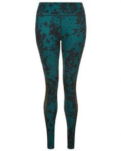 dec43bb3f Sweaty Betty - Chandrasana Reversible Yoga Leggings - green