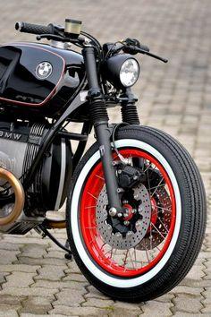 Bmw Cafe Racer, Cafe Bike, Bmw Motorbikes, Bmw Motorcycles, Custom Motorcycles, Motorcycle Humor, Speedway Racing, R80, Bmw K100