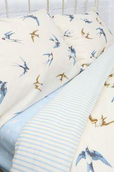 Urban Outfitters - Emma Bridgewater Birds Double Duvet Cover Set
