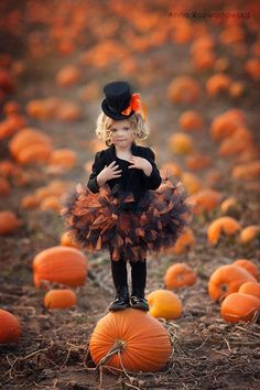 Halloween in the pumpkin patch Photo Halloween, Halloween Fotos, Theme Halloween, Halloween Pictures, Halloween 2019, Baby Halloween, Halloween Costumes, Halloween Dresses For Kids, Halloween Mini Session