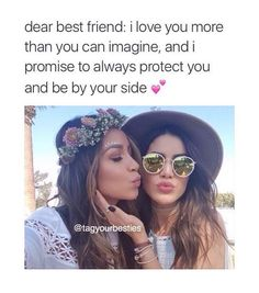 To my best friend 💕 Love My Best Friend, Crazy Friends, Bestest Friend, Best Friend Goals, Best Friend Quotes, Best Friends Forever, True Friends, Friend Challenges, Besties Quotes