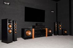 The most powerful home theater systems on the market. The most powerful home theater systems on the market. Home Cinema Systems, Best Home Theater System, Home Theater Setup, Home Theater Rooms, Home Theater Design, Home Theater Seating, Theatre, Best Speakers For Music, Home Speakers