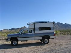 BelAir camper shell and roof rack