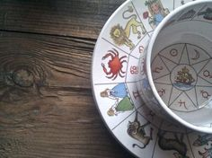 The Taltos Fortune Telling Teacup and saucer by TaxilHoax on Etsy