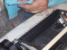 Work the pleats slowly and carefuly down the threads . Then continue rolling the fabric through a little at a time. Check both sides of th. Smocking, Soap Making, Check, Fabric, House, Clothes, Needlepoint, Sewing Projects, Tejido