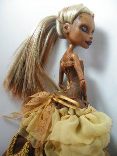 Made to Order OOAK Monster High Custom Art Doll Rerooted via Etsy