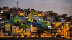 Five years ago, Gabriel Jesus was playing football on the streets of Brazil. Now, he's painted on them as he leads Brazil's World Cup charge in Russia Gabriel Jesus, Street Football, World Cup 2018, Banksy, Installation Art, Big Ben, Street Art, Battle, Around The Worlds