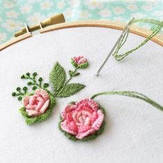 Getting to Know Brazilian Embroidery - Embroidery Patterns Brazilian Embroidery Stitches, Simple Embroidery, Hand Embroidery Stitches, Modern Embroidery, Silk Ribbon Embroidery, Embroidery Hoop Art, Crewel Embroidery, Hand Embroidery Designs, Embroidery Techniques