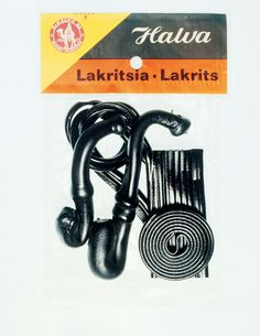 Halvan lakritsia 1960-/70-luvun pakkauksessa. All Kinds Of Everything, What Was I Thinking, Good Old Times, The Old Days, Vintage Ads, Finland, Childhood Memories, Nostalgia, Old Things