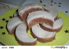 Rumové měsíčky naší babičky recept - TopRecepty.cz Czech Recipes, Christmas Baking, Holidays And Events, Christmas Cookies, Biscuits, Sweet Tooth, Cheesecake, Food And Drink, Cooking Recipes