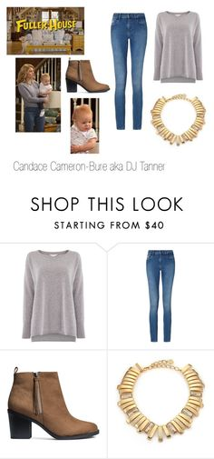 """""""Steal her Look-DJ Tanner"""" by nmekonnen28 on Polyvore featuring Gray & Willow, Calvin Klein, H&M and Oscar de la Renta"""