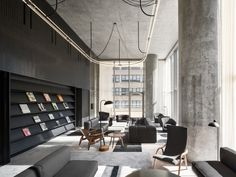 Image result for nyc condo amenity lounge
