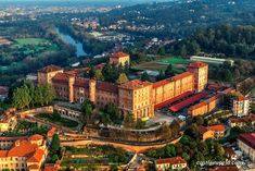 Castello di Moncalieri, Torino, Italy The castle is one of the Residences of the Royal House of Savoy. It is listed by UNESCO as a World Heritage Site. The current structure of the castle is in the shape of a horseshoe facing south, with four massive square towers at each angle