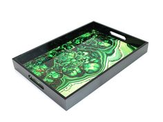 DL & Co | Mineral Tray | Malachite