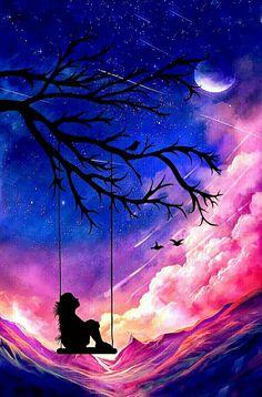Ce que l'on aimerait toujours voir triste ou déprimé – Galaxy Art Night Sky Wallpaper, Scenery Wallpaper, Sunset Wallpaper, Cute Wallpaper Backgrounds, Pretty Wallpapers, Colorful Wallpaper, Disney Wallpaper, Cute Galaxy Wallpaper, Wallpaper Samsung