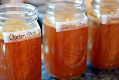Learn how to make Bone Broth from chicken. All you need is a chicken carcass and some vegetables and you are on your way to healing leaky gut.