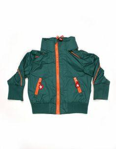 Dark green short summer jacket - Kik*Kid