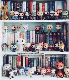 """""""Stay fiery hot - while still being totally cool, book dragon. Tea And Books, I Love Books, Funko Pop Display, Bookshelf Inspiration, Diy Rangement, Dream Library, Shelfie, Book Aesthetic, Book Nooks"""