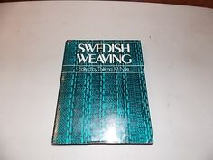 Swedish Weaving Book Thelma M. Nye Hardcover Vintage by BathoryZ, $39.00
