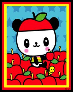 pandapple cell phone