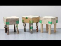 Micaella Pedros explains how to make furniture using discarded plastic bottles - YouTube