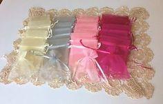 40 Mini Rosaries Organza Bag Pearl Color Rosary Recuerdos de Bautizo Favors | eBay