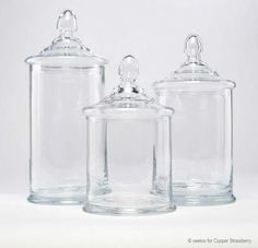 Glass Apothecary Jars, Furniture Usa, European Furniture, Clear Glass,  Polish, Apothecaries, Oslo, Size 10, Powder Room