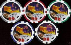 Roulette 500 Poker Chip Set 11.5 Gram Casino Weight.  #Pokerchips #Poker