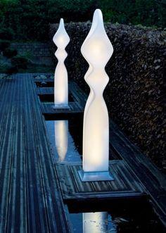 Whimsical outdoor lighting