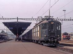 Swiss Railways, Oil Rig, Locomotive, Rigs, Scenery, Fancy, Vehicles, Train Station, Switzerland