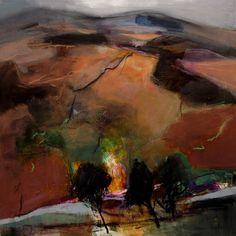 Lammermuir Hills Berwickshire Berwickshire by Patricia Sadler-- bottom R hand corner-- Pagan world