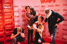The Vamps in Poland