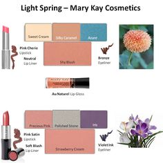 Light and breezy looks for spring available now at my website www.marykay.com/jenjones. I would love to help you find your new look!