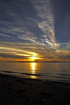 Isle Of Arran Sunset - arran island, Glasgow, Scotland