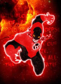Red Lantern by grivitt on deviantART