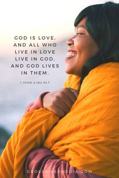 God is love, and all who live in love live in God, and God lives in them. - 1 John 4:16B NLT