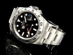 永生名錶珠寶交流中心-ROLEX 勞力士 EXPLORER Ⅱ 216570 探險家2型 黑色面盤 亂碼字頭 <錶友珍藏新品> 42mm